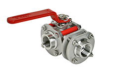 Type PY4 3-Way: Ball Valve