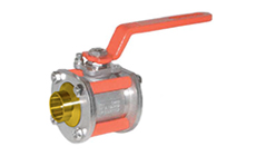 Type PY4-BR: Cryogenic 3 Piece Ball Valve PN40