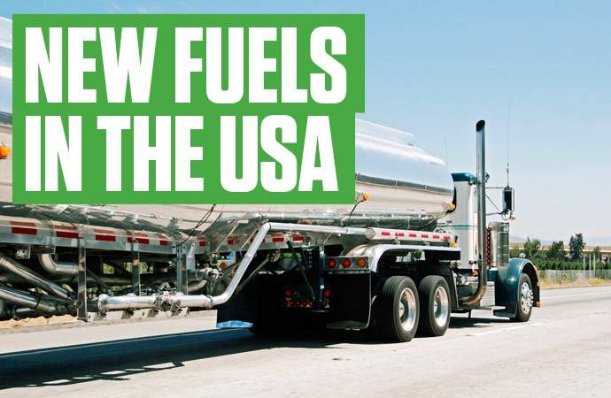 New fuels in the USA